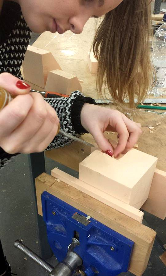 chiseling / workshop / object 2