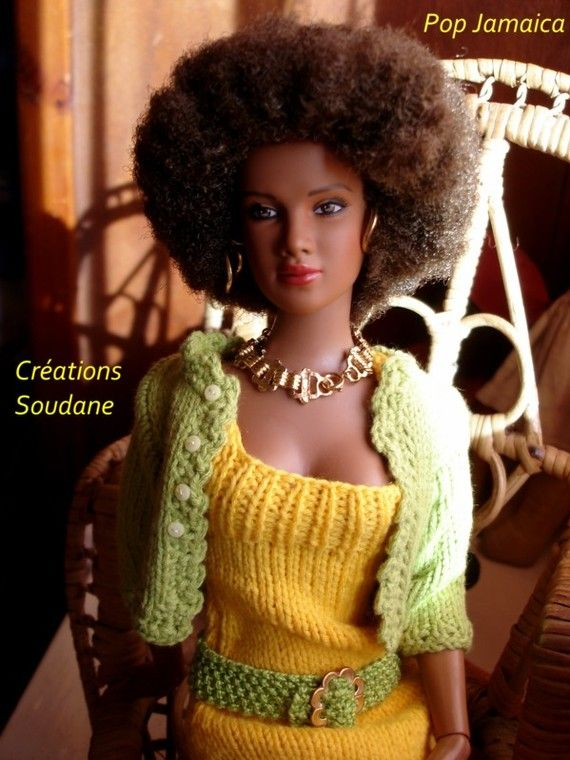 "9. English and French PDF KNITTING PATTERN (2 are available) for 16"" Ellowyne 16"" and Tonner doll"