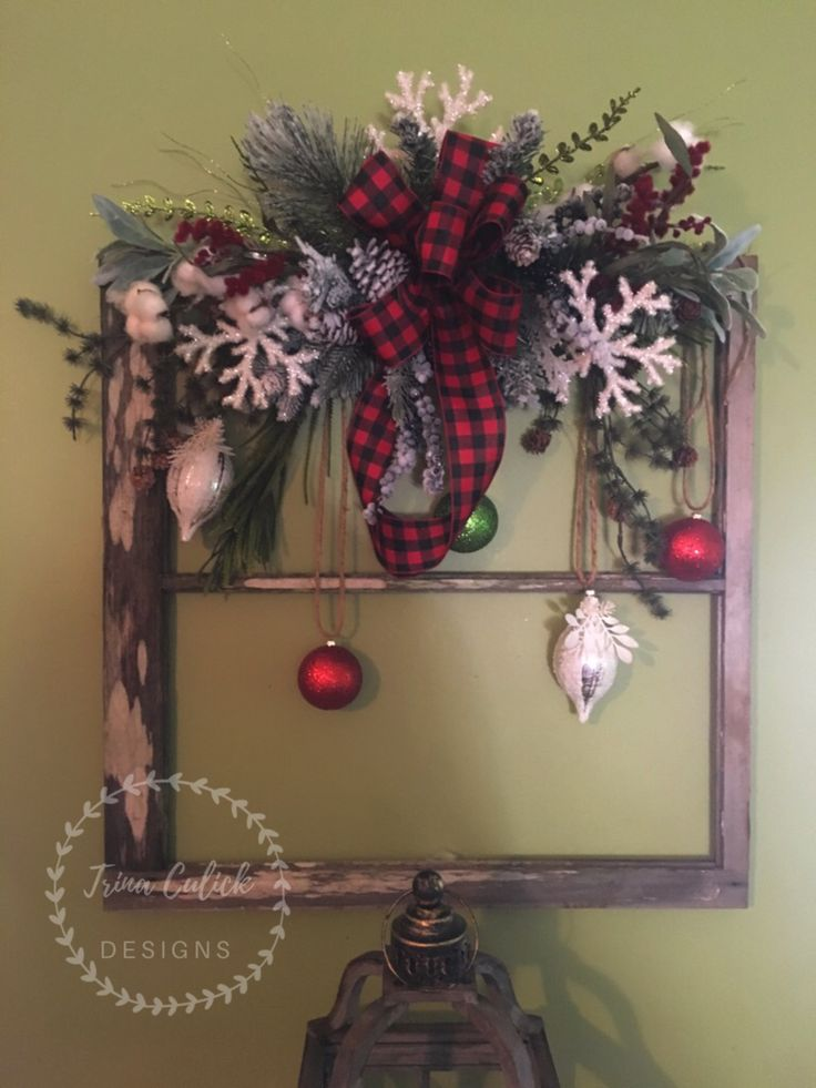 I Decorated This Beautiful Old Window Frame To Add To My