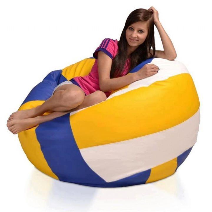 Volleyball bean bag!