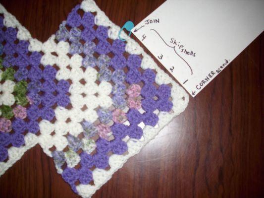 Begin side rows - Crochet A Trunk-Full