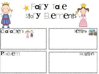 FREEBIE....fairy tale story elements