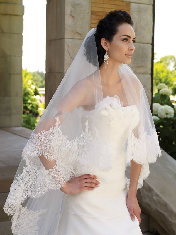 Cheap veil wholesale, Buy Quality veil ivory directly from China veil headband Suppliers: Glamorous Off the Shoulder Appliqued Lace Long Sleeve Taffeta 2015 Romantic Wedding Dresses(buy one get a veil)US $ 189.