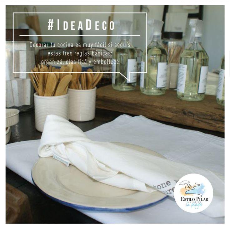 Nuevas tendencias para decorar tu cocina. Vení a descubrirlas en #EstiloPilar, a partir del 22 de Abril en #LagoonPilar