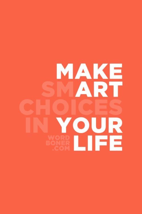 make smART choices.