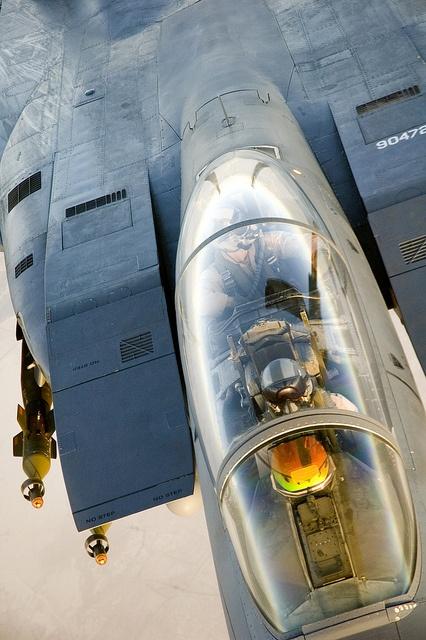 US Air Force McDonnell Douglas (now Boeing) F-15E StrikeEagle