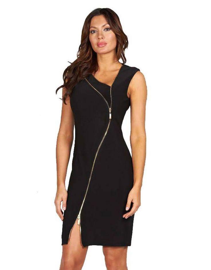 Frank Lyman - FL Side-Zipper Dress