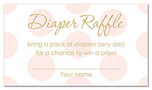 Super Cute And Free Diaper Raffle Tickets Printable For Boys And Girls Baby Shower Raffle Baby Shower Invites For Girl Girl Diaper Raffle