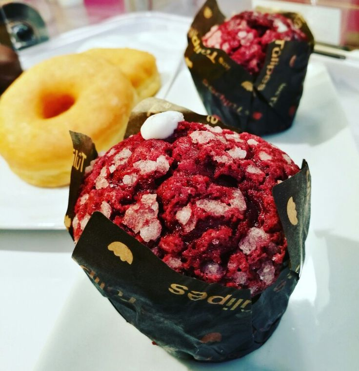 Muffin Red Velvet! O preferido 😍😘 #muffin #redvelvet #dot #myiced