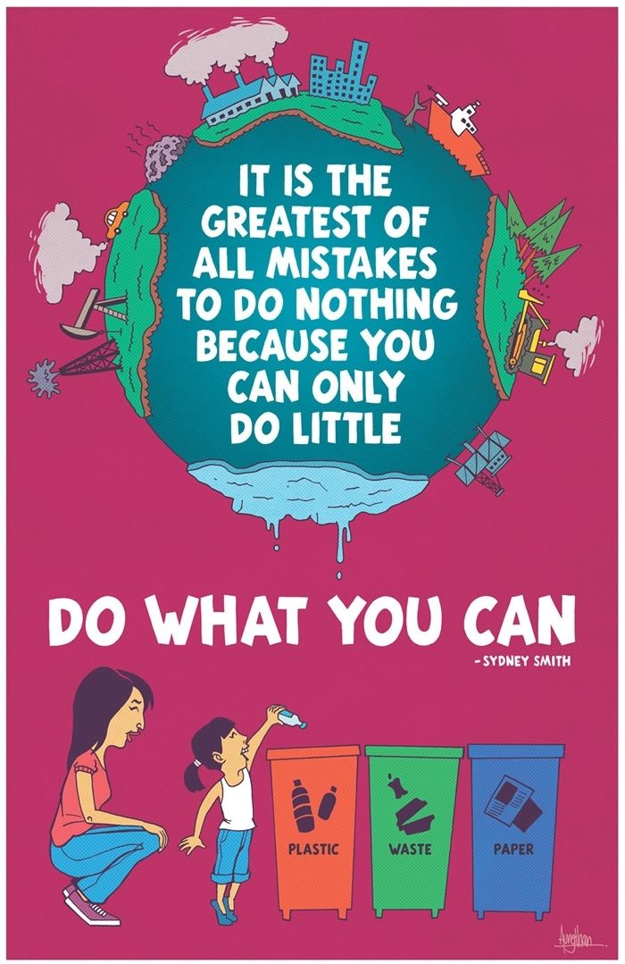 """PRECISELY! DO WHAT YOU CAN! You do not really KNOW unless you do, your impact spreads farther than imagined! Teach teach teach others to do the same! """"We are all in this together"""" WHY NOT make it worth while & make certain our beautiful Earth maintains just that for the children of the future?!"""