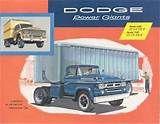 1958 Dodge Model 600 700 Truck