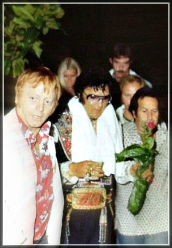 "Elvis and His Entourage, ""The Memphis Mafia"".....Buddies"