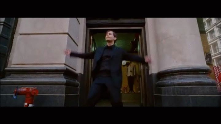 Peter Parker\'s Dance (Spiderman 3) FULL on Make a GIF