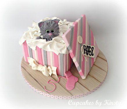 Naughty Kitten Cake