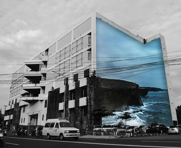 photoshop. building. surrealism