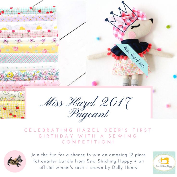 Miss Hazel 2017 Pageant Sewing Competition