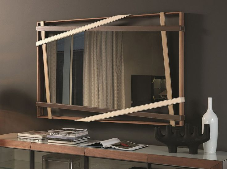 Rebus Rectangular Wall Mirror by Cattelan Italia - $3,850.00