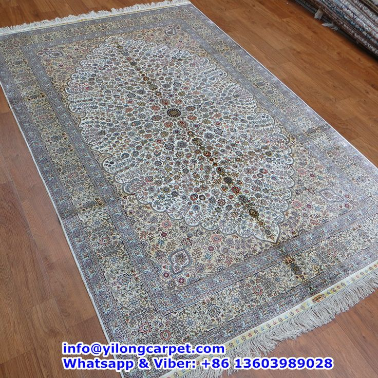 A03 5 X8 400kpsi Double Knots Persian Rug Made By Yilong Basic Color