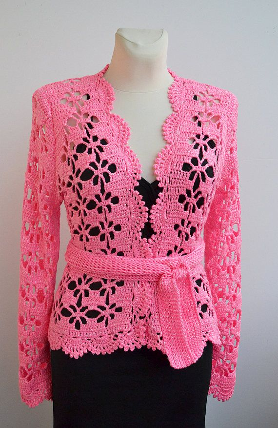 Crochet wedding boleroLace cardigan Lace Wedding bolero #crochet #wedding #exclusive