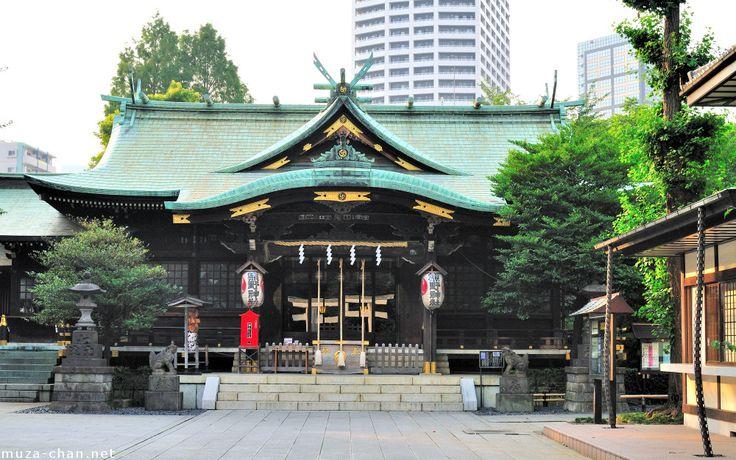 Kumano Junisho Gongen no Yashiro in Shinjuku, Tokyo. 熊野十二所権現社
