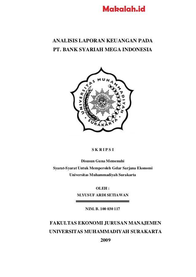 Judul Skripsi Ekonomi Syariah Terbaru 2018