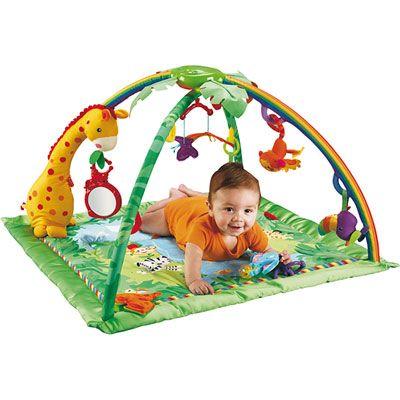 tapis d'éveil jungle pour bébé