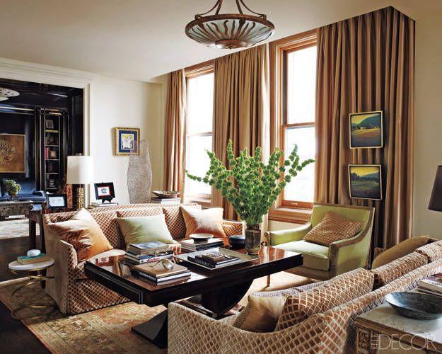 Creative Ideas For Window Treatments - New Curtain Ideas - ELLE DECOR