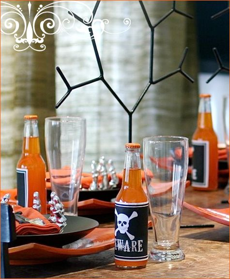 get inspired modern halloween tabletop