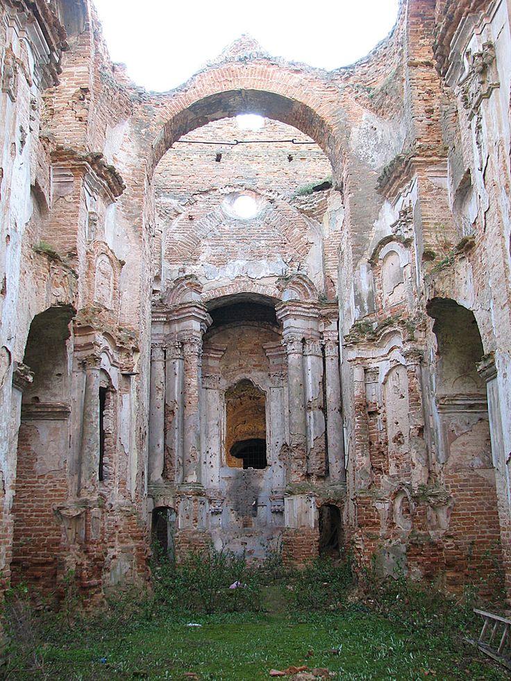 заброшенные церкви украины