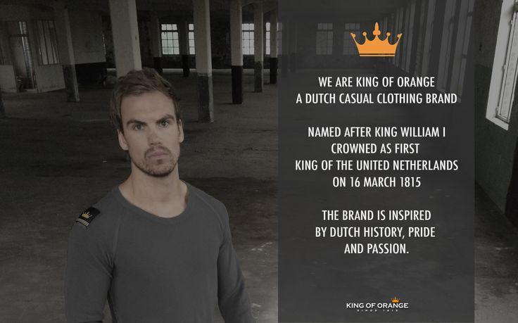 We are King of Orange.