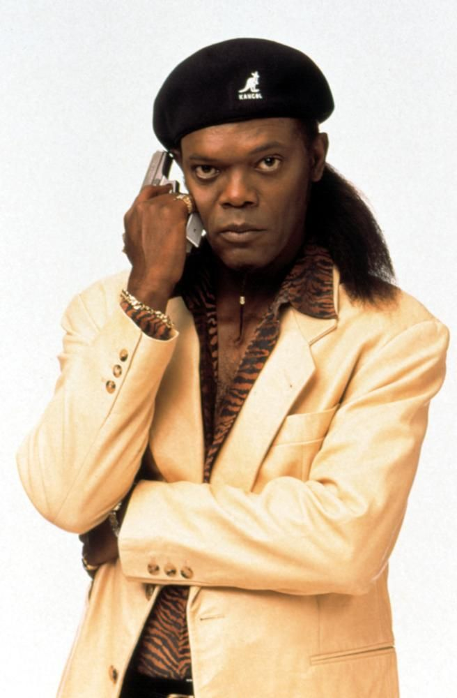 "Samuel L. Jackson in ""Jackie Brown"" (1997). DIRECTOR: Quentin Tarantino."