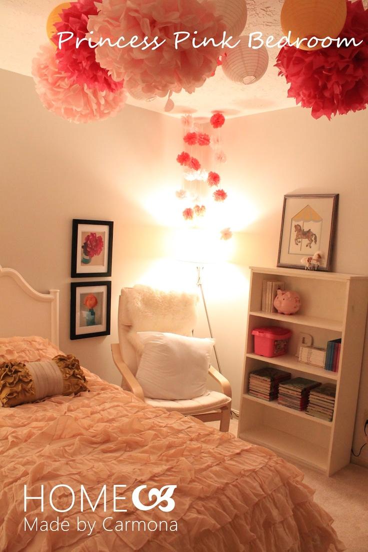 Girly Bedroom Makeover Http://homemadebycarmona.blogspot