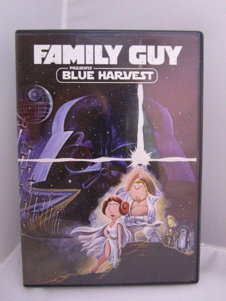 Family Guy Presents Blue Harvest (DVD, 2009, 2 Disc Set ) Star Wars Spoof