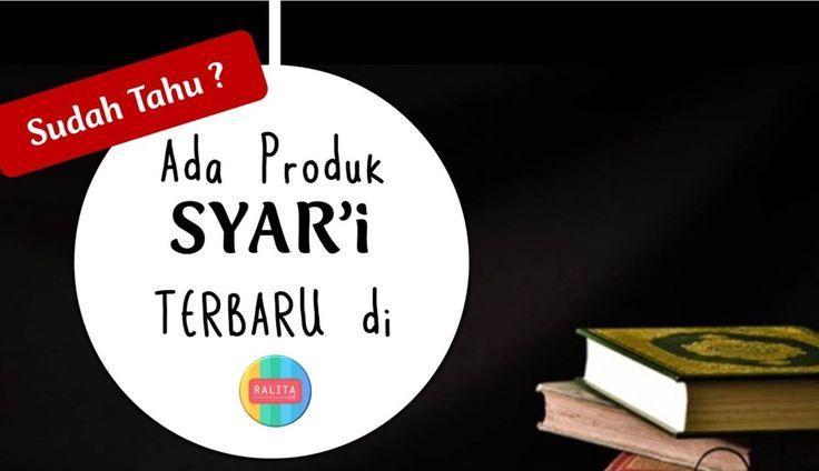 Toko Online yang menjual produk sesuai SYAR'I #RALITAID