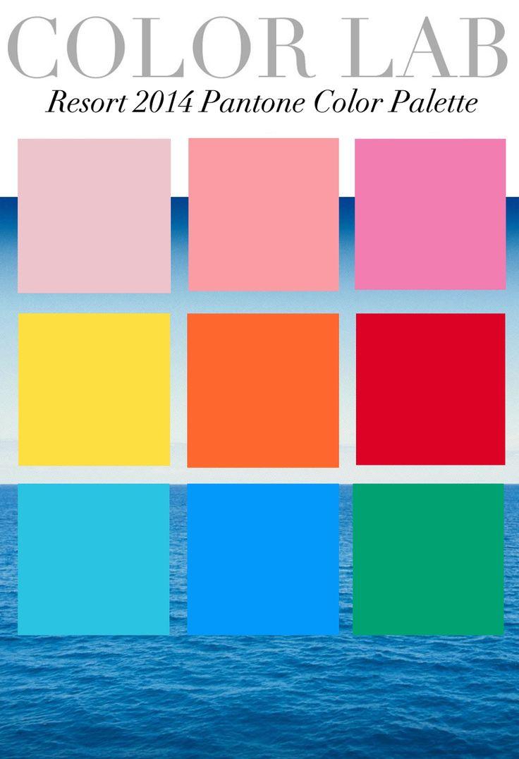Trend Coloring Hair: Resort 2014 Pantone Color