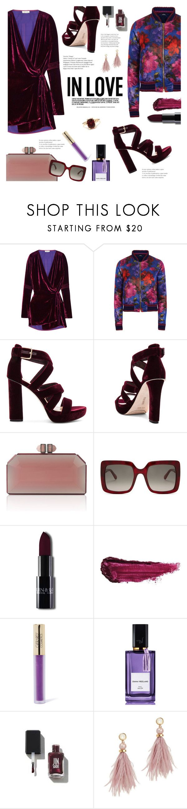 """""""Back in Love"""" by lisalockhart ❤ liked on Polyvore featuring Attico, La Perla, Vince Camuto, STELLA McCARTNEY, By Terry, Gerard Cosmetics, Diana Vreeland, Chanel, Lizzie Fortunato and Other"""