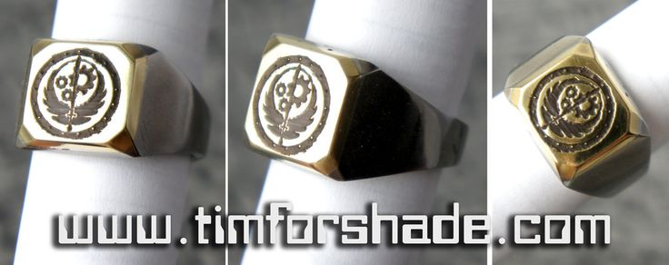 Brotherhood of Steel Ring Fallout ring by TimforShade on DeviantArt