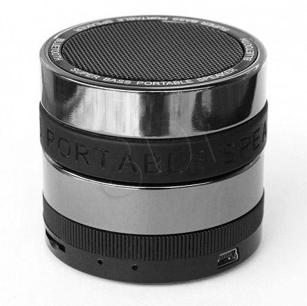 Gwarancja:        24 miesiące gwarancji              Kod Producenta:         IGBTM9              P/N:         5901443050216              Kod EAN:         5901443050216              Opis:         Mały, bezprzewodowy głośnik pracujący w technologii Bluetooth. Doskonale nadaje się do odtwarzania muzyki z tabletów i smartfonów. Możliwość podłączenia zewnętrznego źródła także przez kabel (wtyczka mini jack). Doskonałej jakości dźwięk a także głęboki bass dzięki funkcji X-BASS. Solidna...