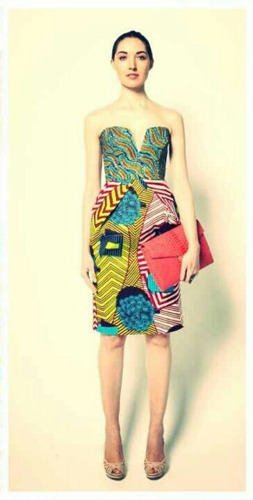 Ashanti Brazil Contemporary African Batik Fashions