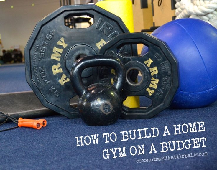 How To Build A Home Gym On A Budget Gym Exercises And