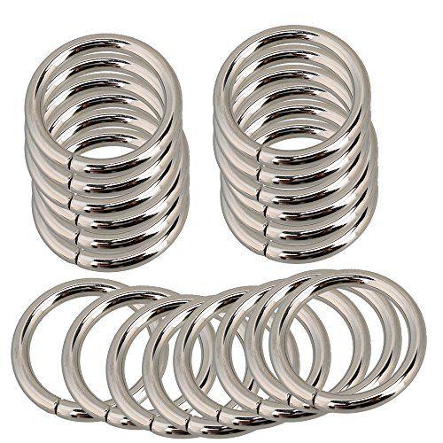 25mm silber Metall O Ring Gurtband Gürtel für Taschen Taschen Rucksack Schnalle 20Stück #mm #silber #Metall #Ring #Gurtband #Gürtel #für #Taschen #Rucksack #Schnalle #Stück