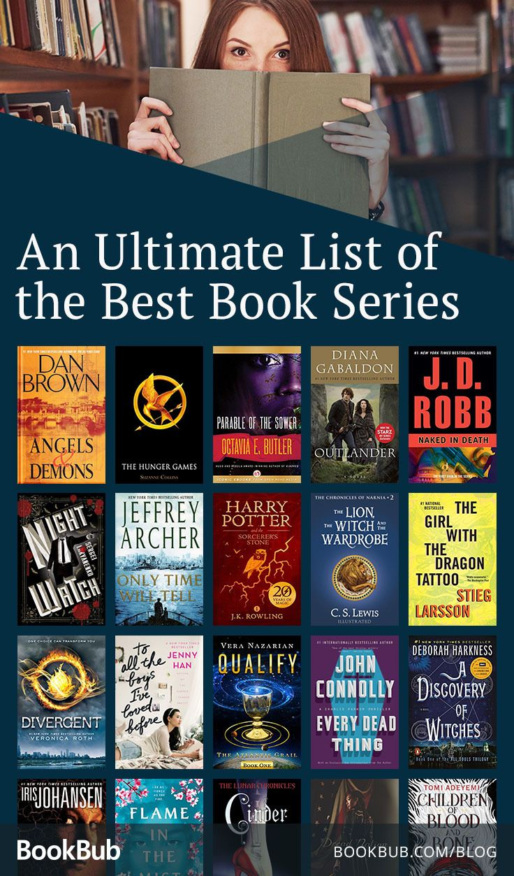 The Best Book Series Of All Time An Ultimate List Good Books