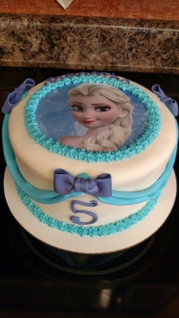 Frozen Cake Simple Design : 25+ Best Ideas about Simple Frozen Cake on Pinterest ...