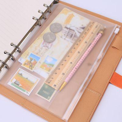 1 UNIDS/LOTE A5/A6/A7 de la Escuela Bolsa de Almacenamiento de Suministros de Oficina Transparente hoja Suelta Cuaderno cremallera de cierre Automático Titular de archivo en Carpeta de presentación de Office & School Supplies en AliExpress.com | Alibaba Group