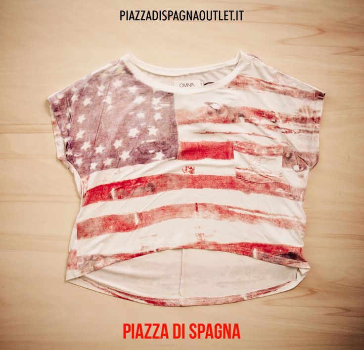 #maglia #Omnia #americanstyle #woman #piazzadispagnaoutlet