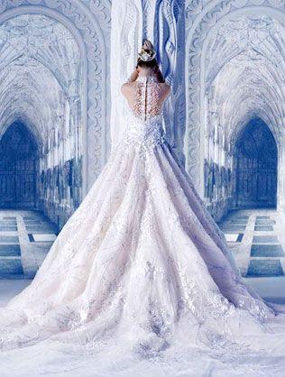 25 свадебных платьев в стиле Снежной Королевы
