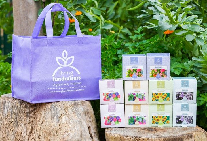Flower Growing Kit - Living Fundraisers -- unique fundraising products