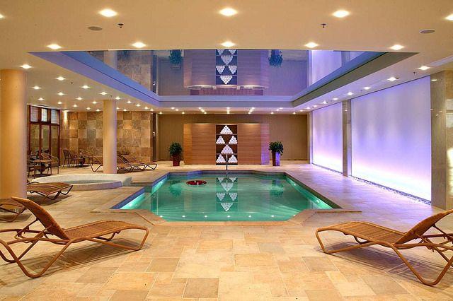 Indoor pool and Jacuzzi | SPA - Divani Meteora Hotel  http://divanimeteorahotel.com/