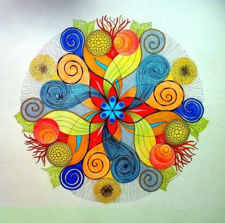 "Mandalala No.117, ""FULL POTENTIAL"", 2015, 50 x 50 cm"