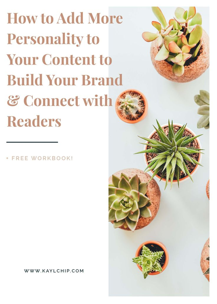 How to add More Personality to Your Content to Build Your Brand and Connect with Readers | Blogging Tips and Tricks | Content Creation Ideas | Content Ideas for Blog | Add Personality to Brand | Brand Identity | Ideal Client Profile | Blog Tips | Branding Tips for Bloggers | Build Community for Blog | How to Create Content for Target Market | Content Strategy